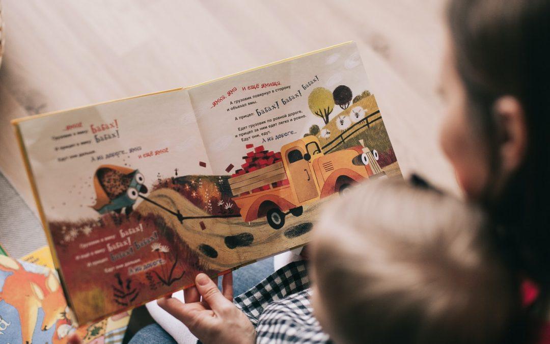 Ler às crianças ao deitar