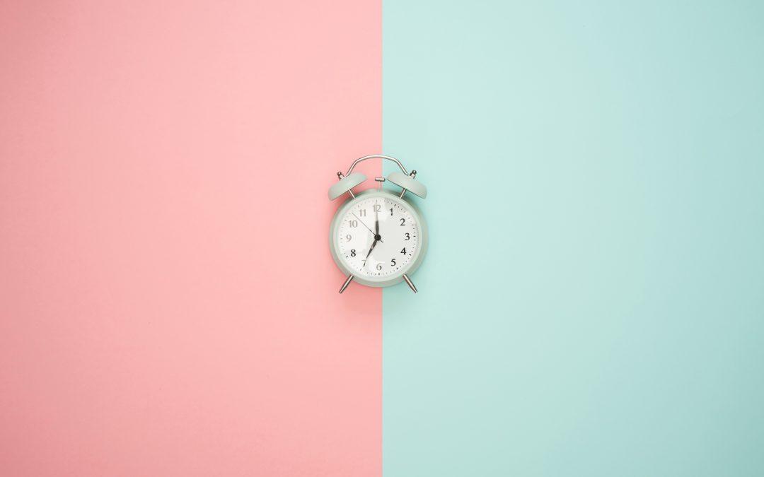 Mudou a hora: como entrar no ritmo?