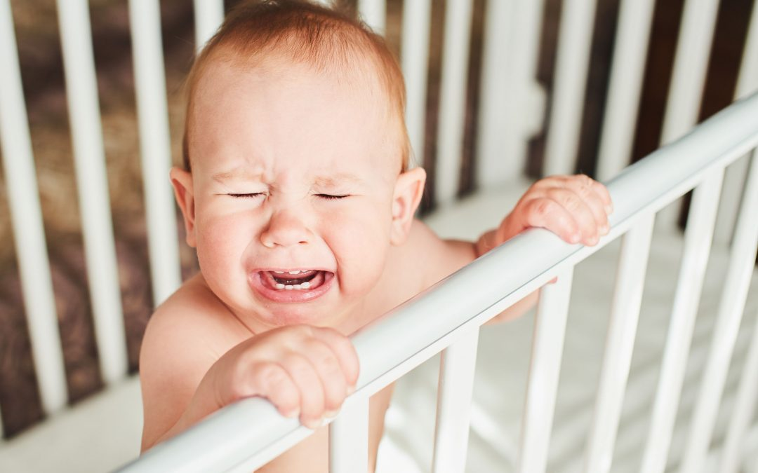 Estratégias para acalmar o bebé durante a noite