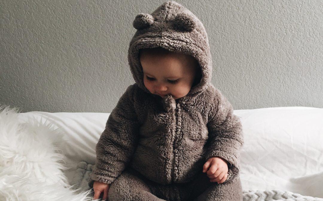 O que vestir às crianças para dormir?