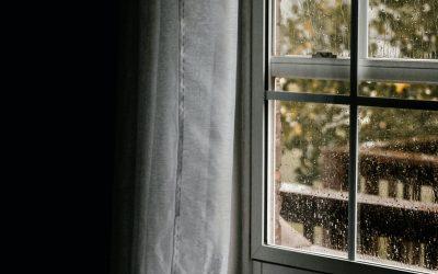 O barulho da chuva ajuda a adormecer